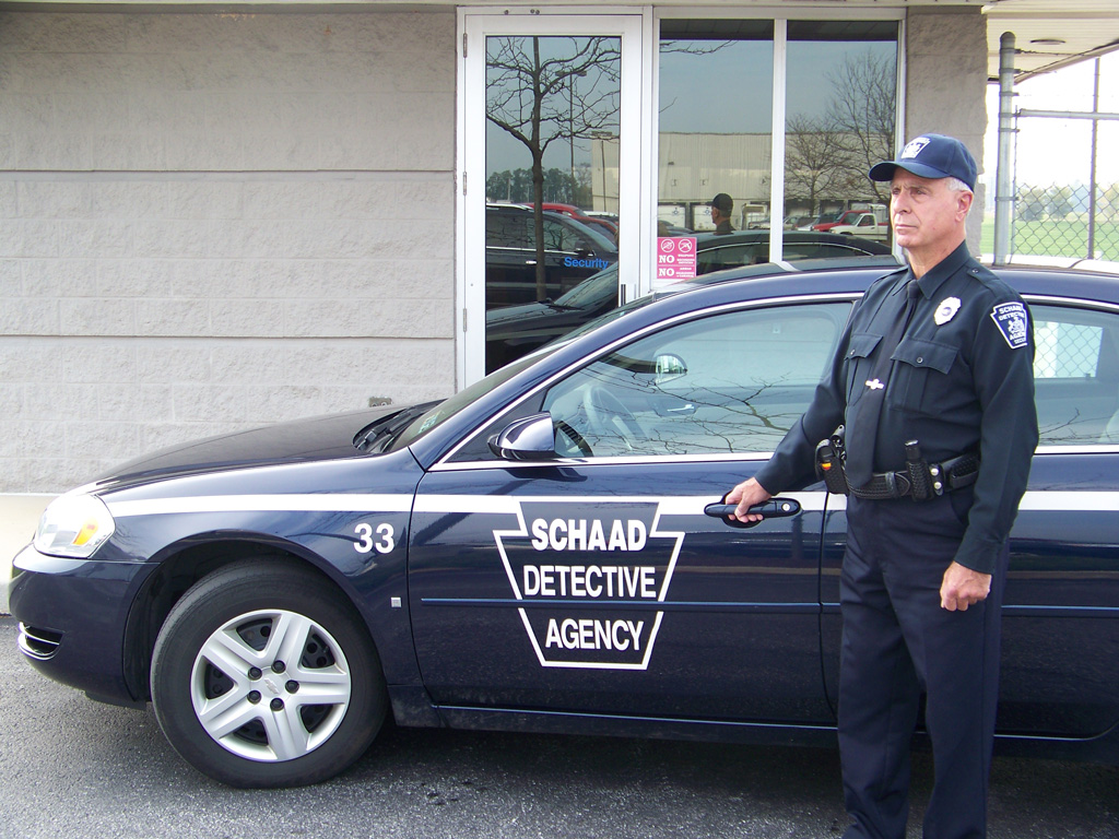 Our armed security officer in Lancaster, PA